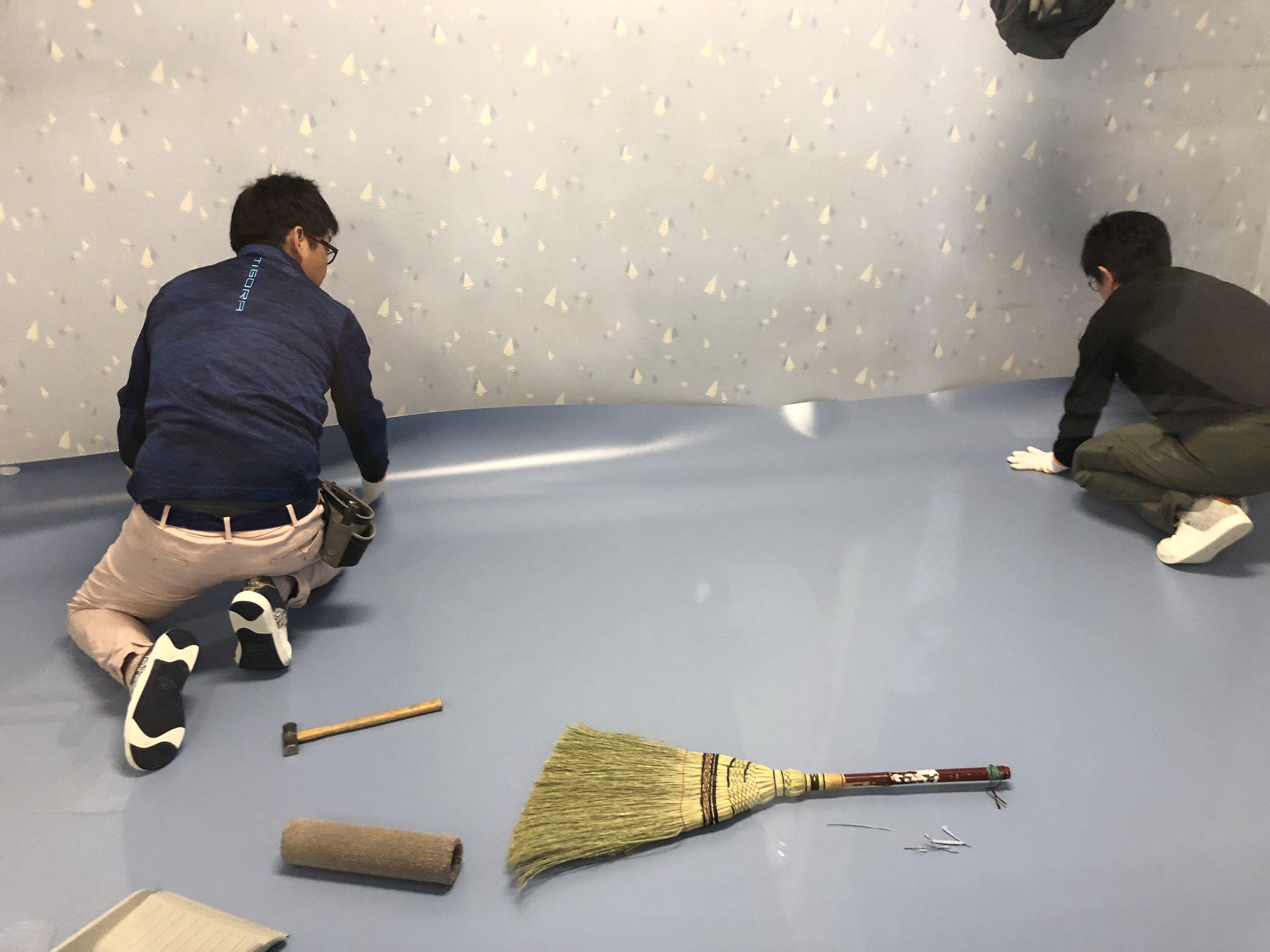 手術室用の床材、東リ オペリューム