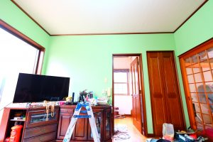 緑クロスアフター