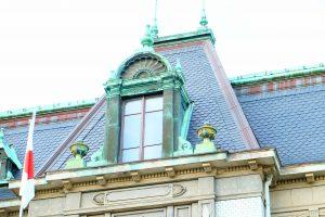 天然スレート屋根