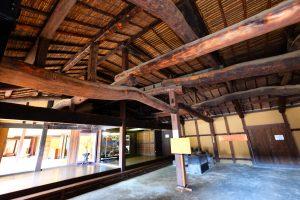 400年前の小屋組み