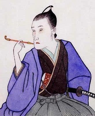平賀源内は壁紙をも作った。